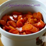 4 ingredient glazed carrots
