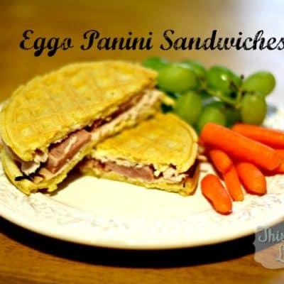Eggo Panini Sandwich (Recipe) #EggoWaffleOff