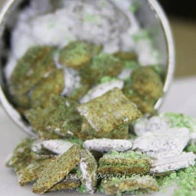 Vegan Puppy Chow Recipe for Saint Patrick's Day