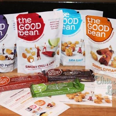 The Good Bean All Natural Roasted Chickpea Snacks
