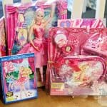barbie in the pink shoes prize pack giveaway