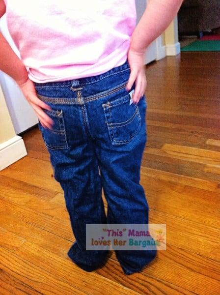 carhartt jeans for girls back