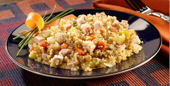 chicken quinoa pilaf from boar's head