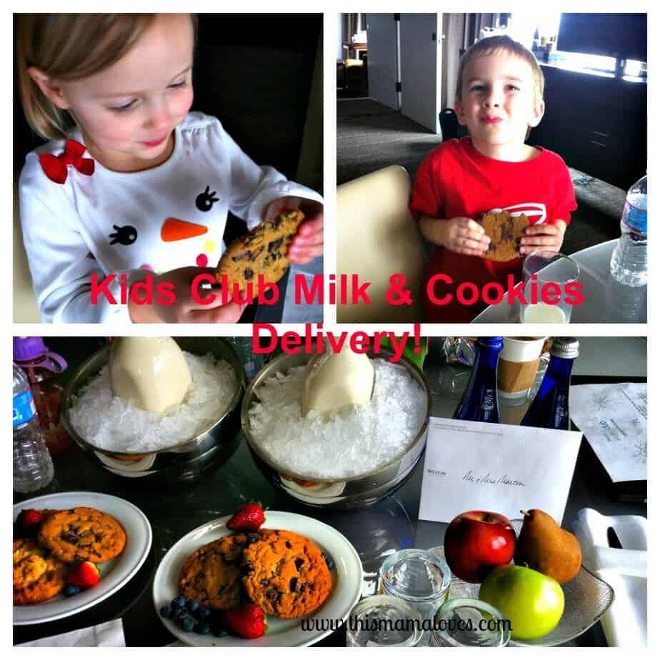 cookies and milk westin