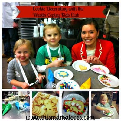 Westin Kids Club Activities at the Westin Copley Place