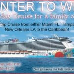 cruise giveaway family of 4
