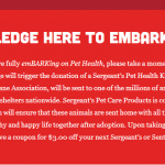embark on pet health
