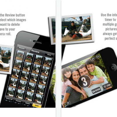 Get the action shots you want with Fast Camera app from iTunes