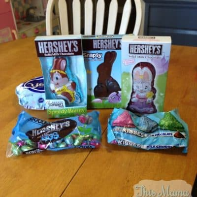 Hershey's has some great options for Easter Baskets