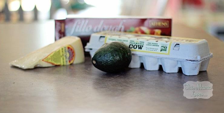 jarlsberg avocado breakfast cups #breakfastduos