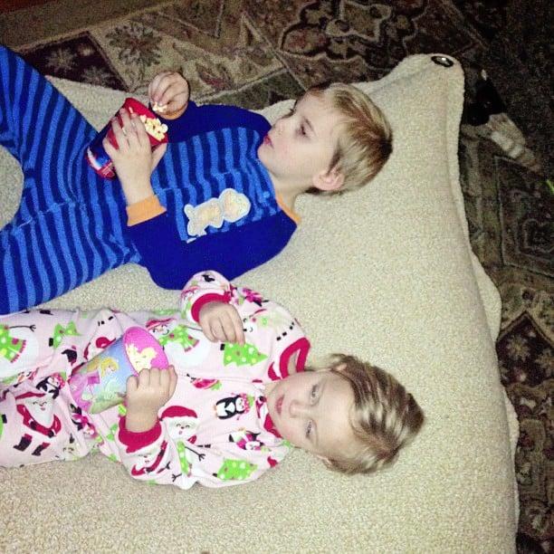 kids beanbag #popsecretmovienight