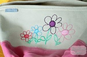 lands end flower easter basket canvas