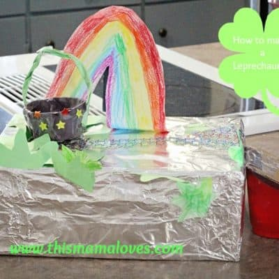How to make a Leprechaun Trap for St. Patrick's Day