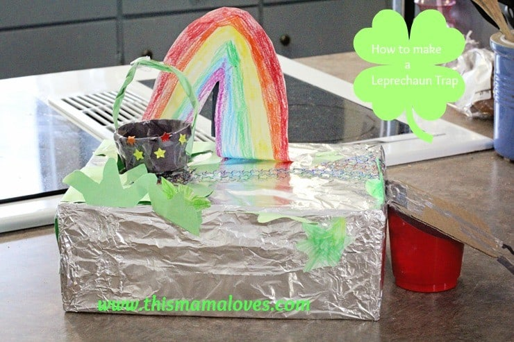 leprechaun trap 5 year old
