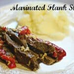 marinated-flank steak