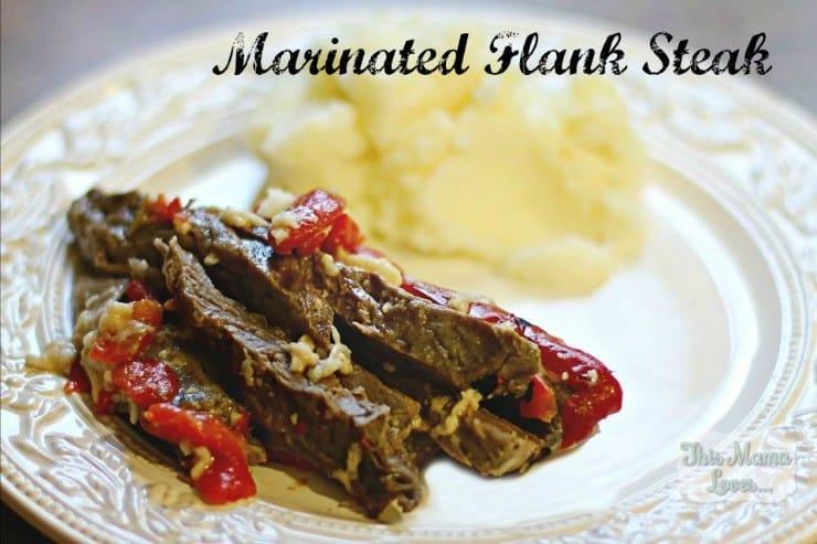 marinated-flank steak