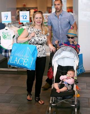Celebs Celebrate Easter at The Children's Place