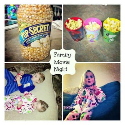 Friday is Family Movie Night #PopSecretMovieNight