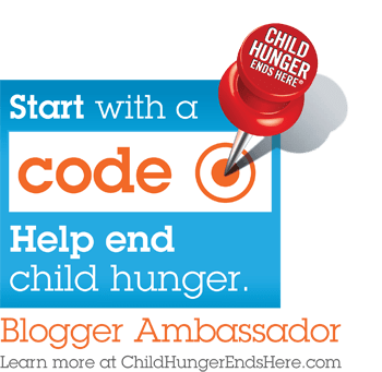Child Hunger Ends Here – with us. With you. With me. With young music stars, too. #ChildHunger