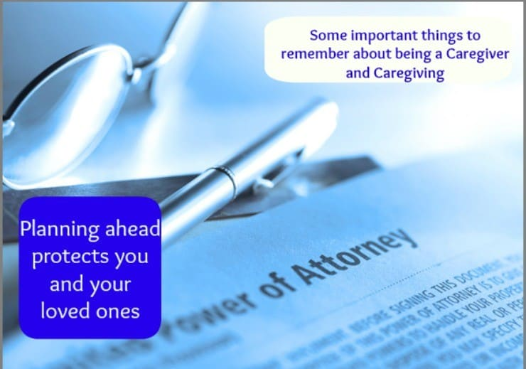 things to remember about being a caregiver and caregiving