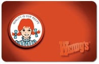 wendys gift cards