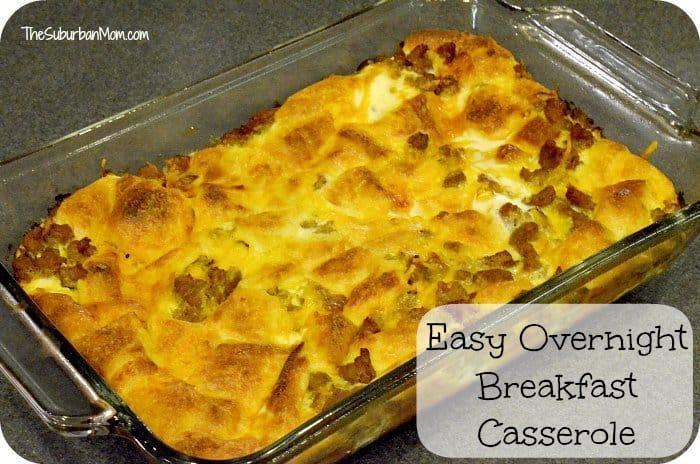 Easy-Overnight-Breakfast-Casserole