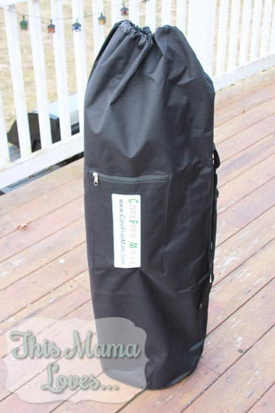 careFree mat for camping in storage bag