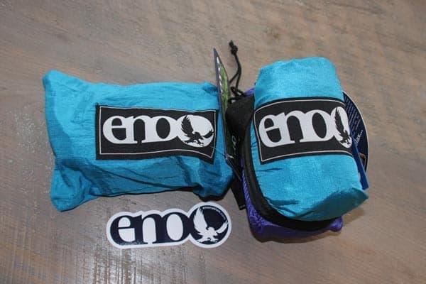 ENO singlenest hammock packed