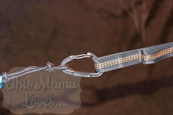 ENO singlenest hammock with atlas strap