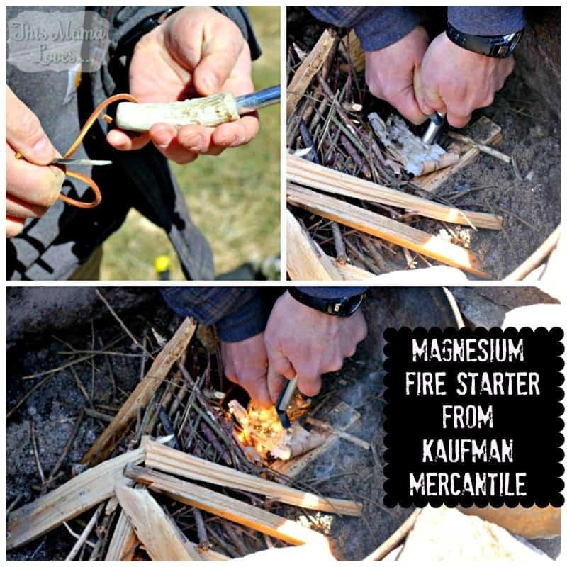 kaufman mercantile magnesium fire starter