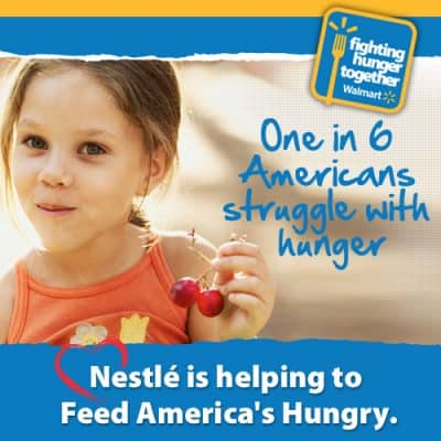 Nestle supports Walmart's Fighting Hunger Together Initiative (Giveaway- 2 winners)