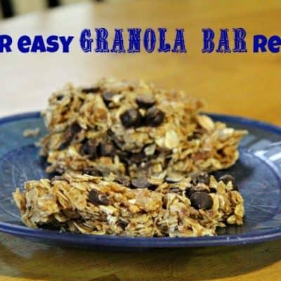 Granola Bars with Honey Bunches of Oats Greek Honey Crunch  #HoneyBunchesGreek