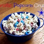 fourth of july popcorn crunch memorial day
