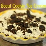 girl scout cookie ice cream pie recipe