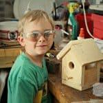home depot diy birdhouse kit