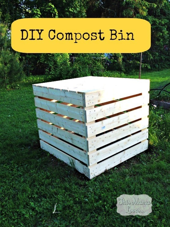 Diy compost bin - How to decorate a dustbin ...