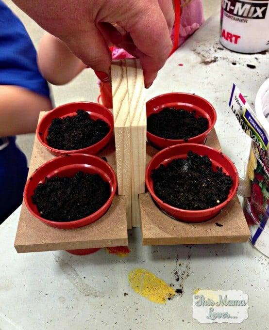 home depot kids workshop planters
