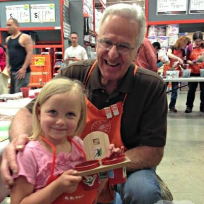Home Depot Kids Workshops are fun and educational #DigIn