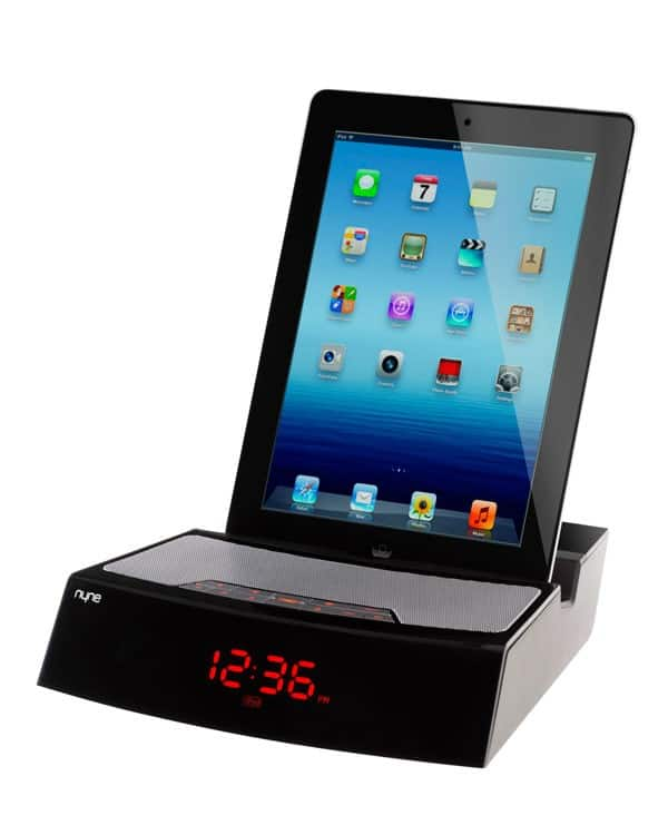 nyne docking alarm clock