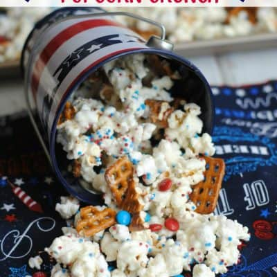 Amazing Patriotic Popcorn Crunch Recipe to try right now!