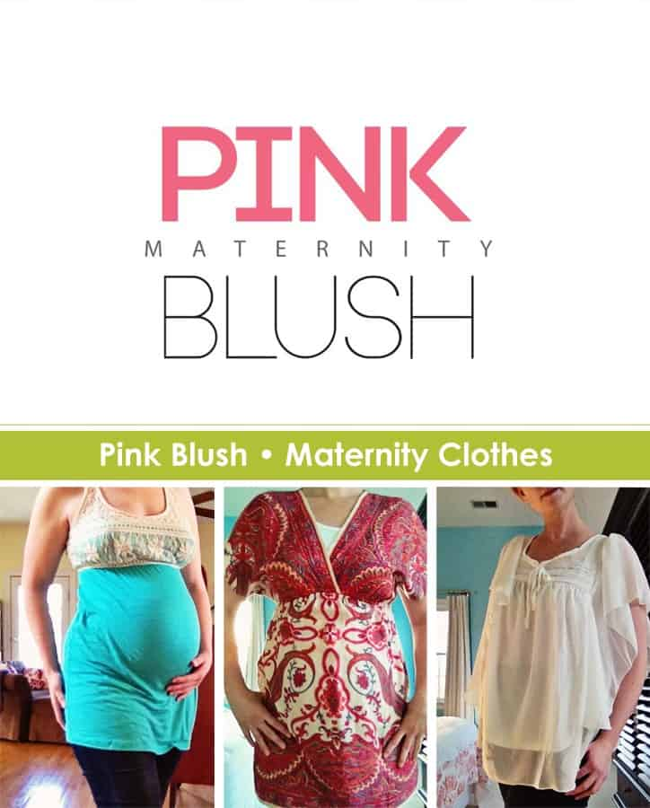 Pink Blush Maternity Clothes (Giveaway)