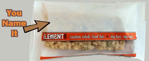 Element Whole Food bars