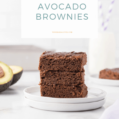 Chocolate Avocado Brownies Recipe