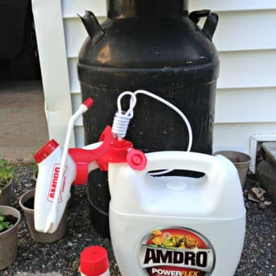 Fighting Pests and Weeds the Easy Way with AMDRO PowerFlex ($50 Amex Giveaway)