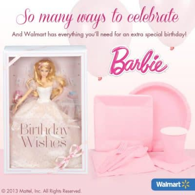 Barbie Birthday Party Planning Guide (FREE) with Barbie Birthday Wishes Doll (Giveaway)