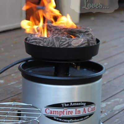 Campfire in A Can Portable Propane Fire Pit