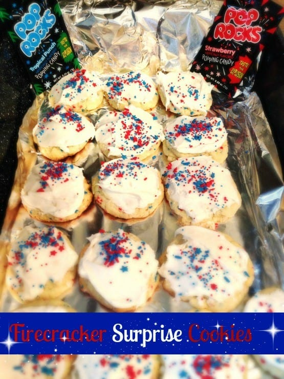 firecracker surprise pop rocks cookies