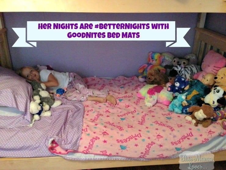 goodnites bed mats are discreet #betternights