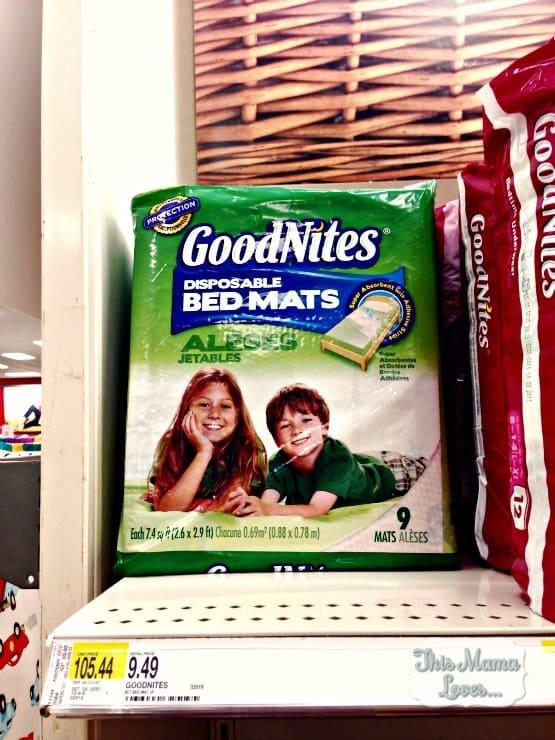 goodnites bedmats #betternights