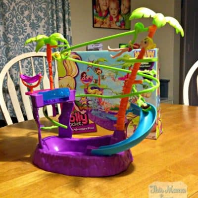 Polly Pocket Zipline Adventure Pool to the rescue!